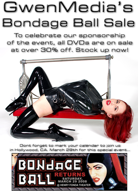 bondage ball sale flyer