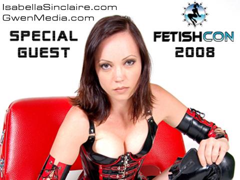 Isabella Sinclaire FetishCon 08 Promo