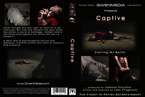 Captive DVD Insert