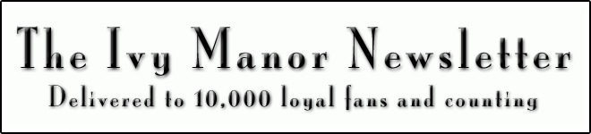 ivy manor newsletter banner